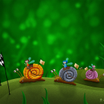 Snail racing de Vladstudio