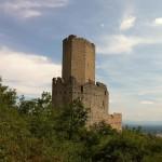 Donjon pentagonal du château de l'Ortenbourg