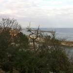 Vue sur le port depuis les hauteurs de Bastia
