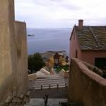 Escaliers et ruelles à Bastia