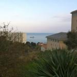 Vue sur la mer à Bastia