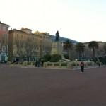 Place Saint-Nicolas, à Bastia