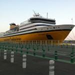 Un ferry de chez Corsica Ferries