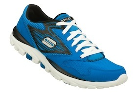 Photo des Skechers GoRun bleues